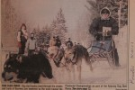 Kearney Dog Sled Races Newspaper Clips