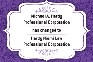 Hardy Niemi Law