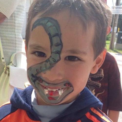 Children Face Painting